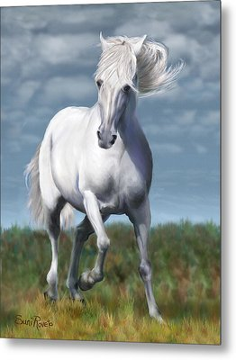 Andalusian Freedom Metal Print by Suni Roveto