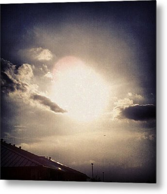 #andrography #nexuss #random #sun Metal Print by Kel Hill