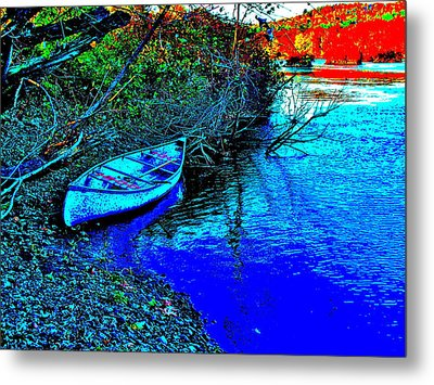 Andy River 17 Metal Print