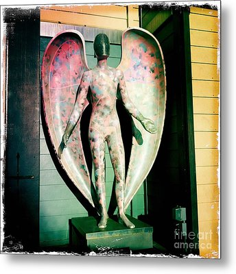 Metal Print featuring the photograph Angel In The City Of Angels by Nina Prommer