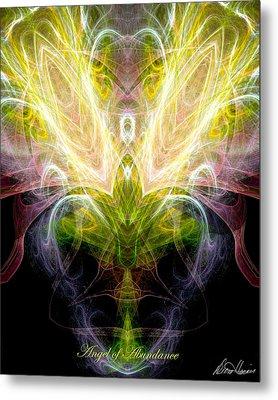 Angel Of Abundance Metal Print by Diana Haronis