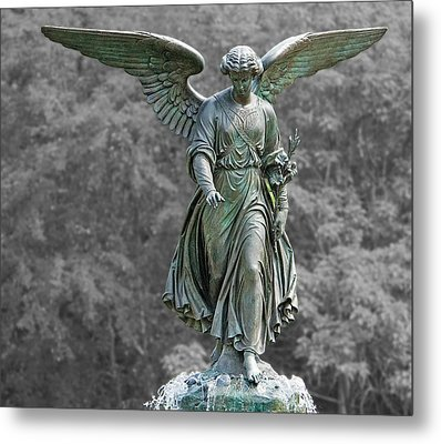 Angel Of The Waters Poster Metal Print by Sarah McKoy