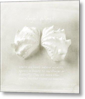 Angel Wings Metal Print by Linde Townsend