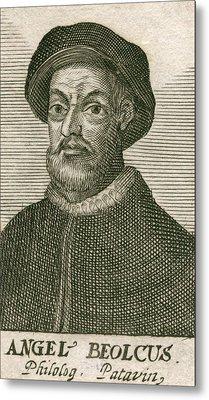 Angelo Beolco 1502-1542, Venetian Actor Metal Print by Everett