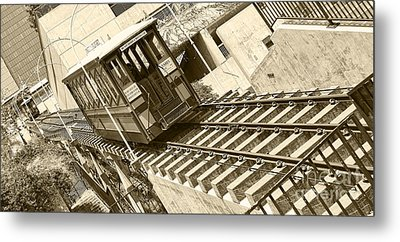 Metal Print featuring the photograph Angels Flight by Jason Abando