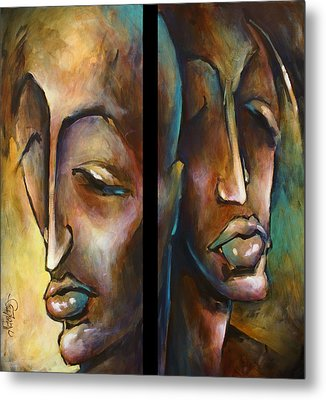 'angels Of Deception' Metal Print by Michael Lang