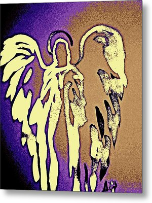 Angels Of Light - Earth Metal Print
