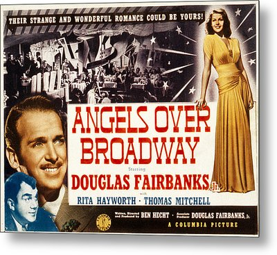 Angels Over Broadway, Thomas Mitchell Metal Print by Everett