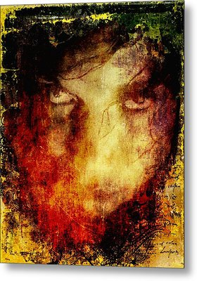 Anger Metal Print by Gun Legler