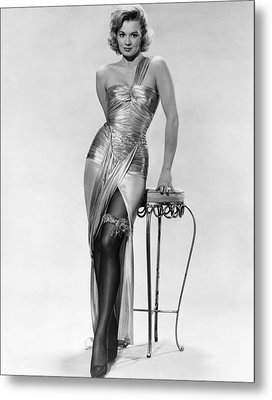 Angie Dickinson, Ca. Late 1950s Metal Print by Everett