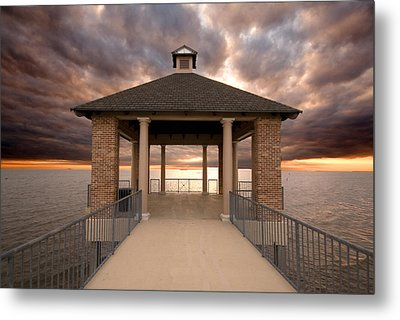 Angry Waters Metal Print by Pixel Perfect by Michael Moore