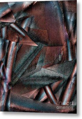 Angst II Metal Print by Richard Ortolano