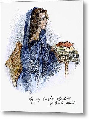 Ann Bronte (1820-1849) Metal Print by Granger