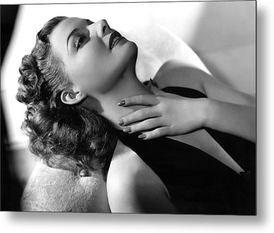 Ann Sheridan, Portrait, Circa 1940 Metal Print by Everett