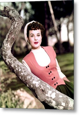 Anne Of The Indies, Jean Peters, 1951 Metal Print by Everett