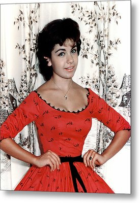 Annette Funicello, 1950s Metal Print