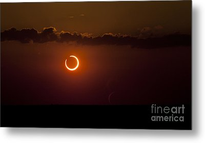 Annular Solar Eclipse Metal Print by Phillip Jones