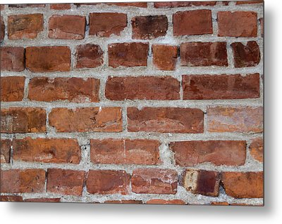 Another Brick In The Wall Metal Print by Heidi Smith