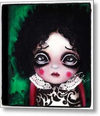 Another Painting By Me #abrilandrade Metal Print by  Abril Andrade Griffith