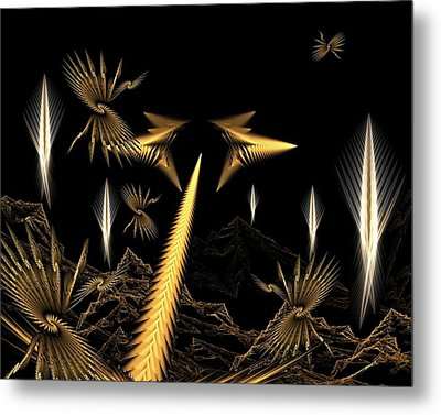 Another Place Another Time Metal Print by Ricky Kendall