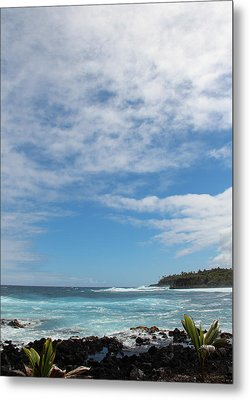 Another Sunny Sunday In Hawaii Metal Print by Kerri Ligatich