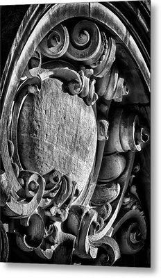Ansonia Building Detail 17 Metal Print by Val Black Russian Tourchin