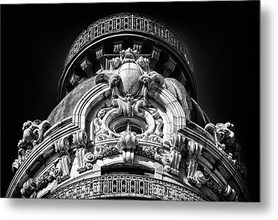 Ansonia Building Detail 47 Metal Print by Val Black Russian Tourchin