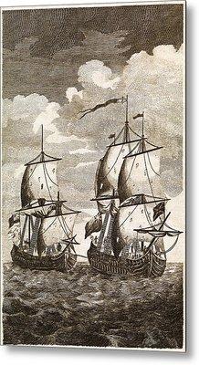 Anson's Spanish Galleon Capture, 1743 Metal Print