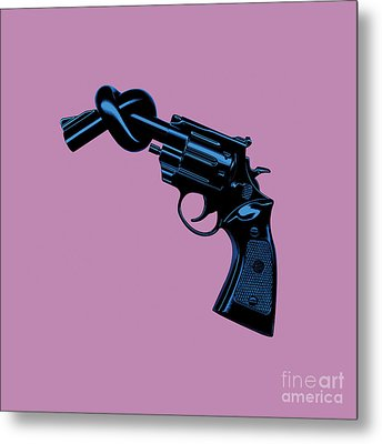 Anti Gun Metal Print by Tim Bird