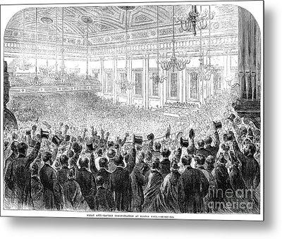 Anti-slavery Meeting, 1863 Metal Print by Granger