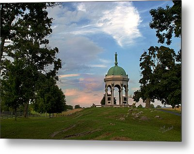 Antietam Maryland State Monument Metal Print by Judi Quelland