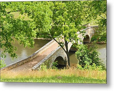 Metal Print featuring the photograph Antietam's Burnside Bridge by Cindy Manero