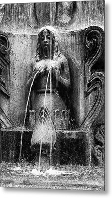 Antigua Mermaid Metal Print