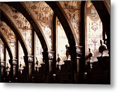 Antiquarian Hall The Residenz Munich Metal Print