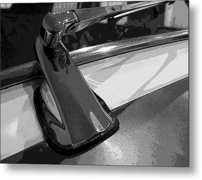 Antique Car Close-up 004 Metal Print by Dorin Adrian Berbier