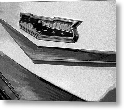 Antique Car Close-up 007 Metal Print by Dorin Adrian Berbier