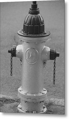 Antique Fire Hydrant Cambridge Ma Metal Print