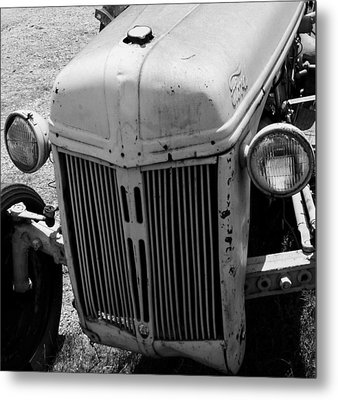 Antique Ford Tractor Metal Print by Toma Caul