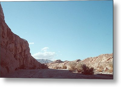 Anza Borrego Mountains Metal Print by Naxart Studio