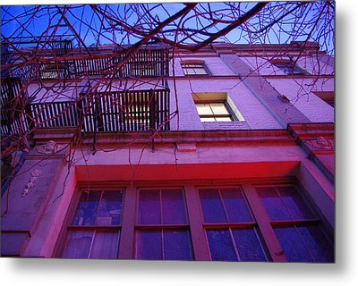 Metal Print featuring the photograph Apartment Building by Marilyn Wilson