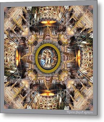 Apocalypse Sixtina Metal Print by Bruno Levy