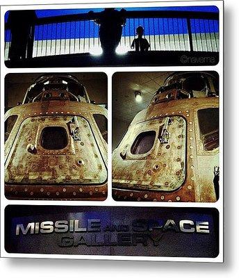 Apollo 15 Command Module (4th Mission Metal Print by Natasha Marco
