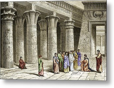Apollonius Of Perga, Greek Mathematician Metal Print by Sheila Terry
