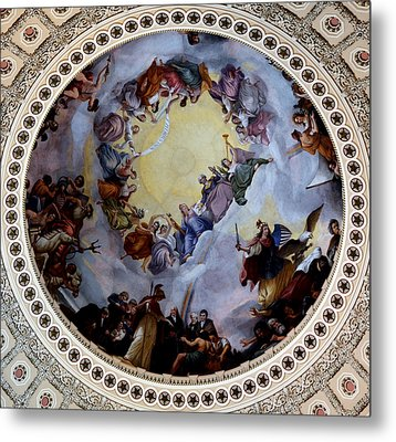Metal Print featuring the photograph Apothesis Of Washington by Pravine Chester
