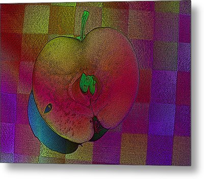Metal Print featuring the photograph Apple Of My Eye by David Pantuso