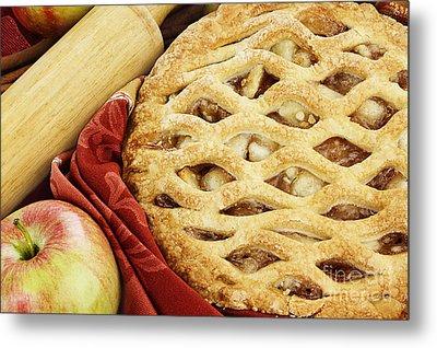 Apple Pie Metal Print by Stephanie Frey