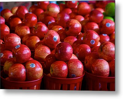 Apples Metal Print by Mike Horvath