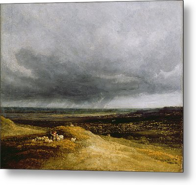 Approaching Storm Metal Print by Georges Michael