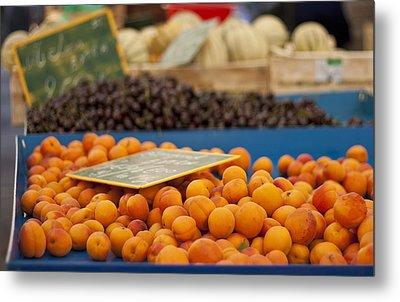 Apricot Season Metal Print by Georgia Fowler