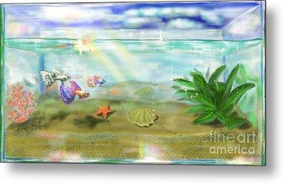 Aquarium Metal Print by MURUMURU By FP